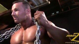 Schwule Bodybuilder-Sex